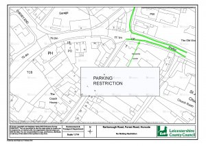 Temporary Traffic Regulation Order: Forest Road and Narborough Road, Huncote