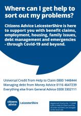 Citizens Advice Poster