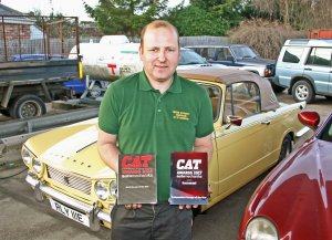 Leicestershire Village Garage Wins Prestigious National Award For The Second Year Running.